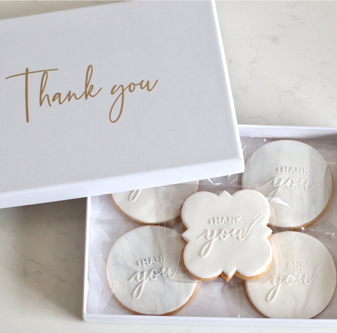 Thank you Cookie Gift Box - Bespoke Baby Co