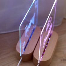 Load image into Gallery viewer, Personalised Night Light (Natural White) - Bespoke Baby Co