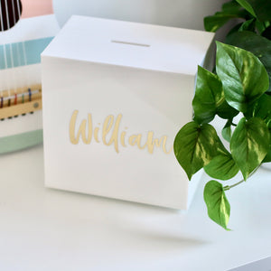 Personalised Money Box - Bespoke Baby Co