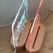 Load image into Gallery viewer, Personalised Night Light (Multi Colour) - Bespoke Baby Co