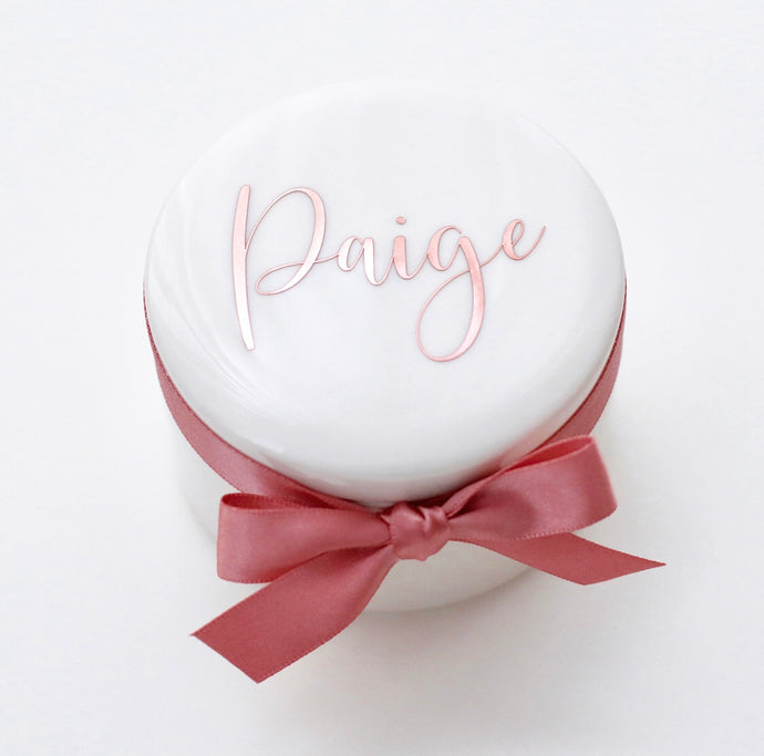 Trinket Box - Bespoke Baby Co