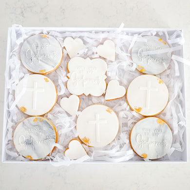 Godparent Cookie Gift Box - Bespoke Baby Co