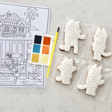 Load image into Gallery viewer, Paint Your Own Bluey Cookie Kit - Bespoke Baby Co