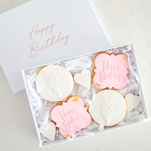 Birthday Cookie Gift Box (Small) - Bespoke Baby Co