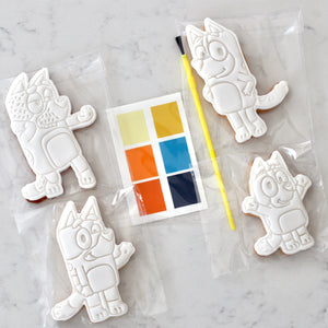 Paint Your Own Bluey Cookie Kit - Bespoke Baby Co