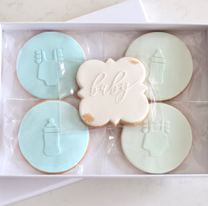 Baby Boy Cookie Gift Box - Bespoke Baby Co