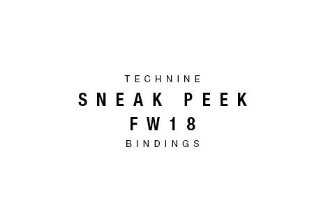 Sneak Peek 2018 Snowboard Bindings