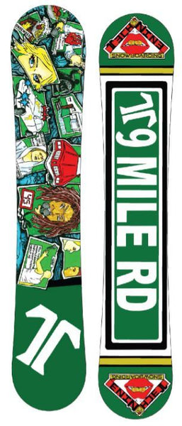 S.T.D SHRED TIL DEATH SNOWBOARD Wide F20