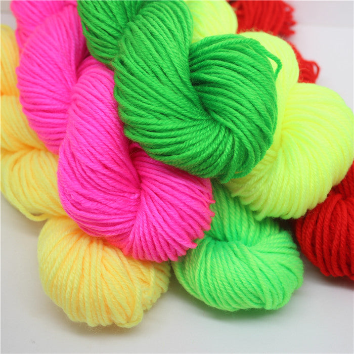 20 Roll 1000g Acrylic Yarn Hand-woven Slippers Cushion Hat Doll Cross Stitch Handmade Acrylic Baby Wool - Sissystreasurechest