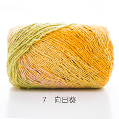 260m/Ball Artist Paintings Color Dyeing Wool Knitting Crochet Yarn Knit Sewing Thread for Knitting Weaving Sweater Shawl Scarf - Sissystreasurechest