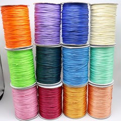 284yrd x1mm 150D Leather Sewing Waxed Thread For Chisel AWL Upholstery Shoes Luggage necklace Ribbon jewelry accessories