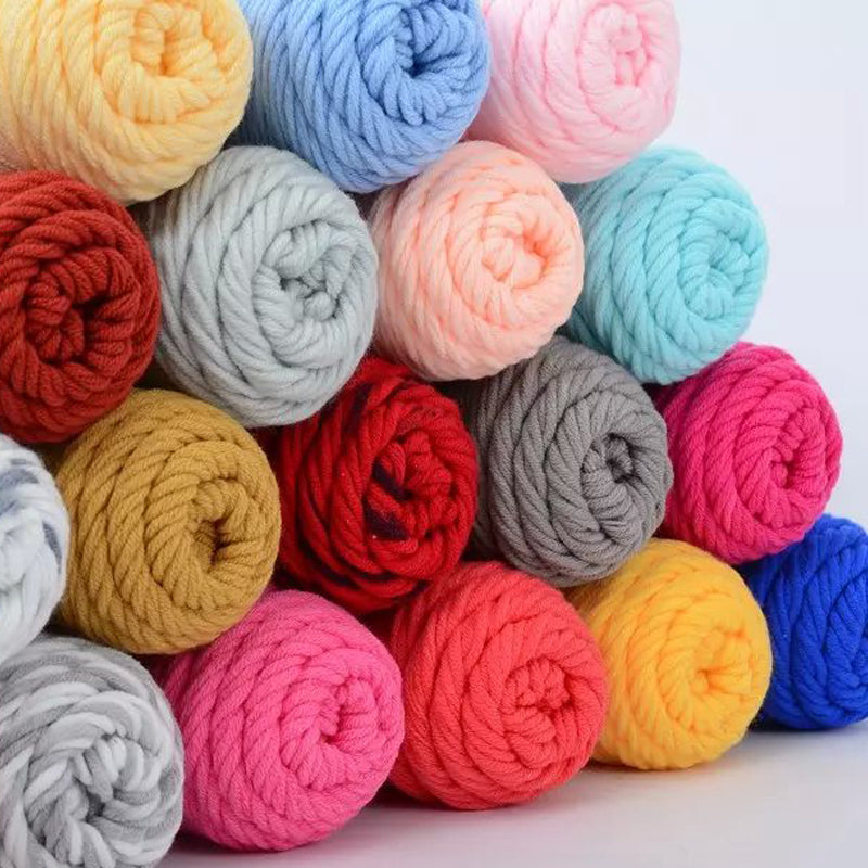 500g/lot 5skeins, Soft Cotton Yarn For Hand Knitting Scarf Hat Sweater Baby  Yarn ,Free Shipping - Sissystreasurechest