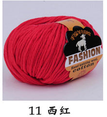 Baby Silk Cashmere Thick Wool Yarn For Hand Knitting Cheap Cotton Yarn For Crochet Hook Needlework Threads Lana Laine A Tricoter - Sissystreasurechest