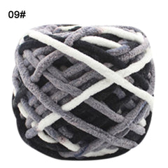 Colorful Hand-knitted Chunky Yarn For Hand knitting DIY Scarf Hat Cap Soft Milk Cotton Yarn Thick Acrylic Blended Yarn