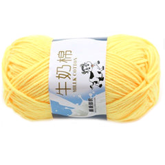 Creative DIY Milk Cotton Yarn Baby Wool Yarn for Knitting Children Hand Knitted Yarn Knit Blanket Thread Crochet Yarn