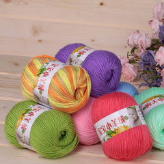 Milk Protein Fiber Textile Woolen Yarn Thread,You Can Choose From More Than 50 Color - Sissystreasurechest