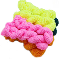 Polyester for Knitting Baby Knitting Wool Hand-knitted Needle Work Wool Yarn Hand Crocheted Blanket Elastic
