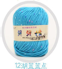 Wholesale Baby Soft Yarn For Hand Knitting Needlework Blanket Crochet Milk Cotton Thread Yarns Knitting Wool Thick Yarn Laine - Sissystreasurechest