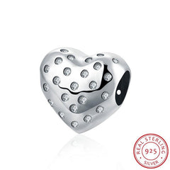 Sterling Silver Charm Bead fit for Pandora Bracelet Bangle - Sissystreasurechest
