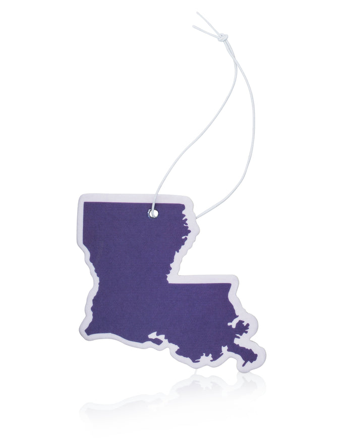 Purple Louisiana Air Freshener