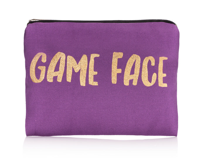 Game Face Canvas Bag