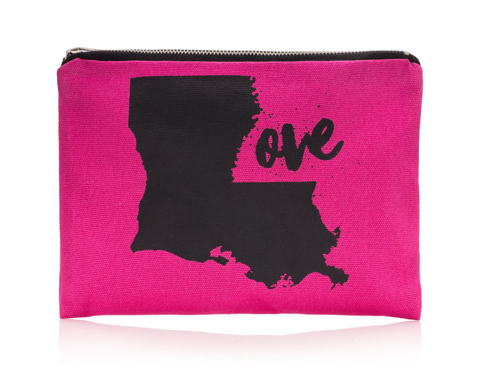Louisiana Love Canvas Bag