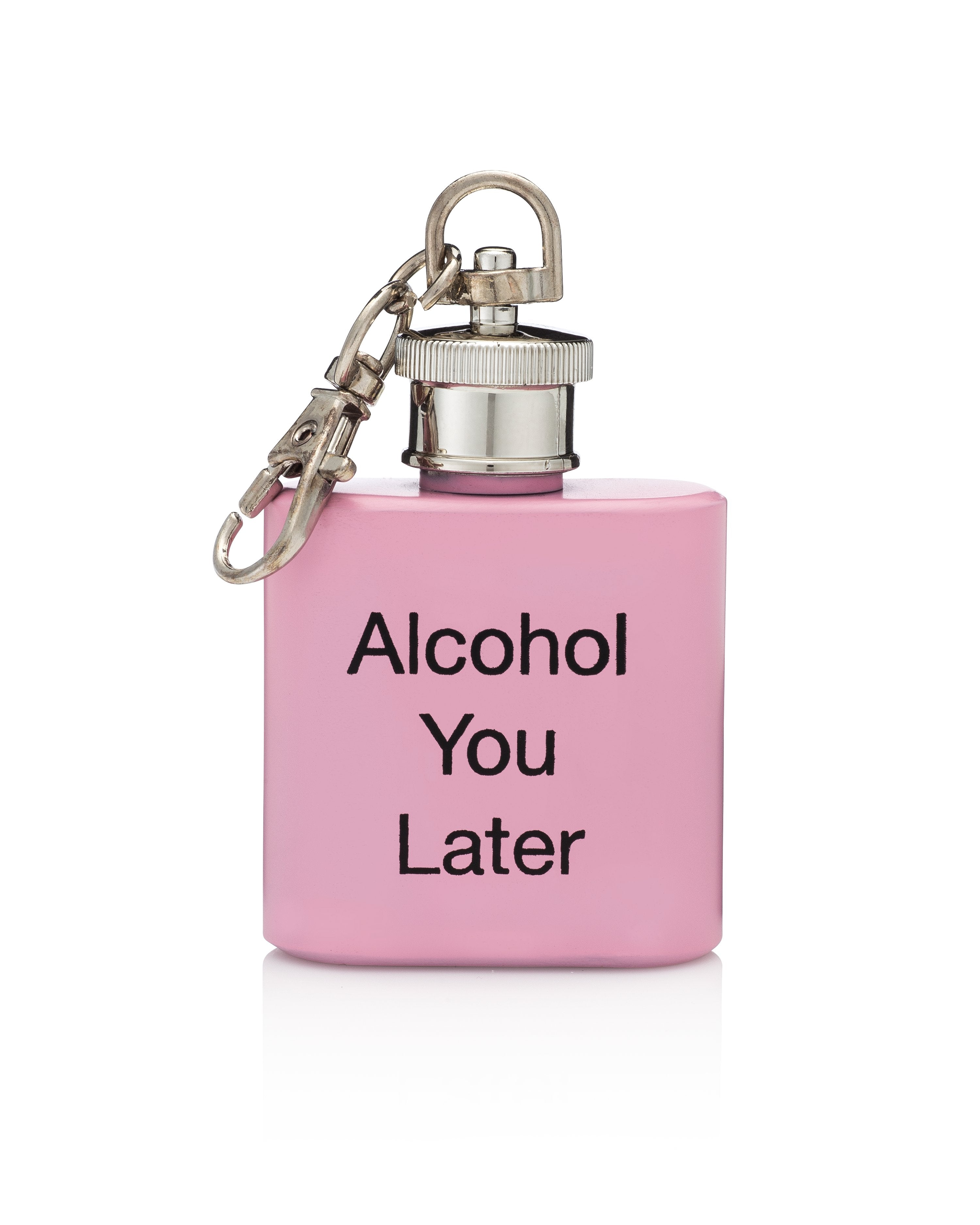 Alcohol You Later Flask Keychain