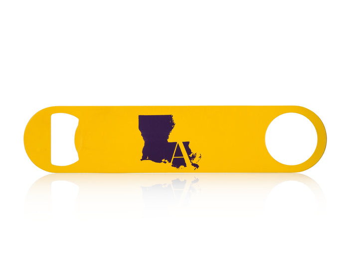Gold Louisiana Bottle Opener