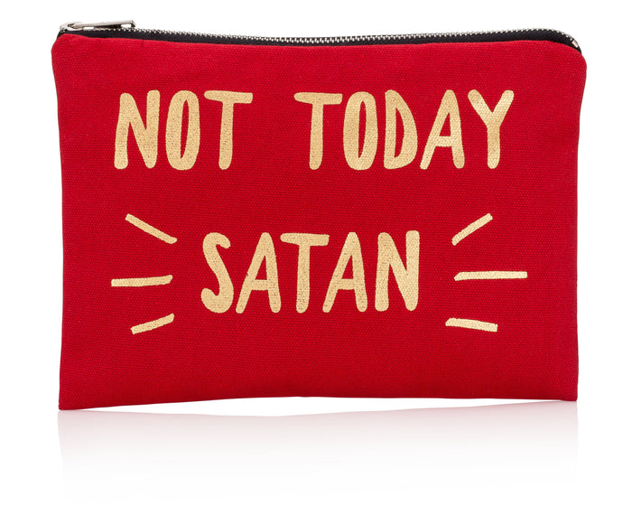 Not Today Satan Canvas Bag