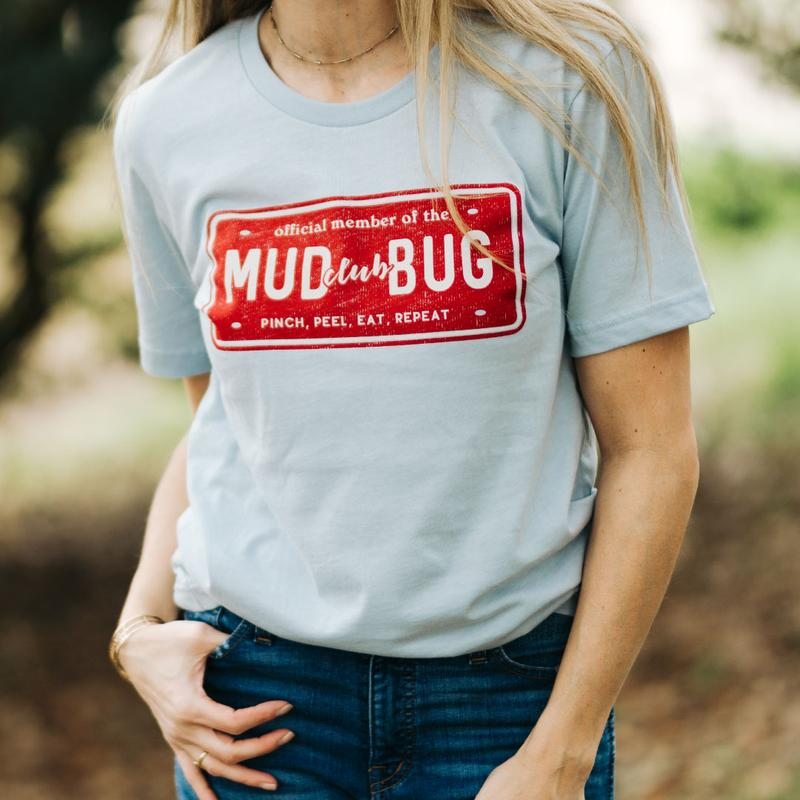 Unisex Mudbug Crawfish T Shirt Top