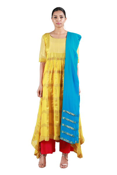 Golden Yellow Salwar