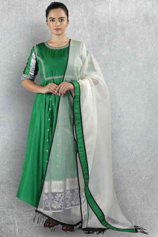 Emerald Green Salwar