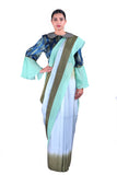 Light blue  silk Saree