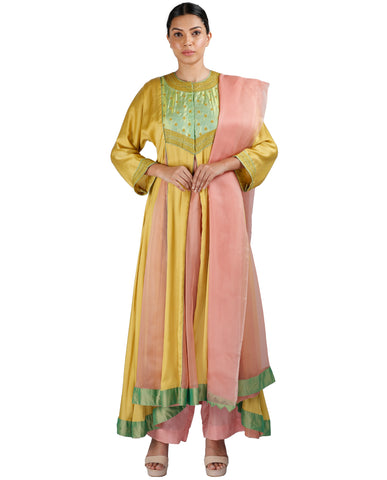 Yellow and Pink Salwar