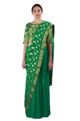 Royal Green Saree