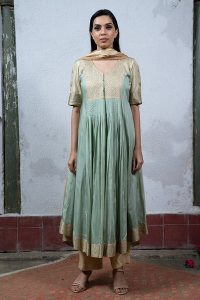 Jaji: Sea Green Salwar