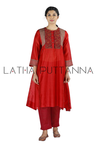 Red Salwar