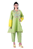 Lemon Green kurta