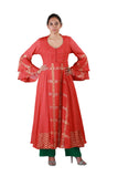 Burnt Orange Salwar