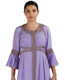Purple Salwar