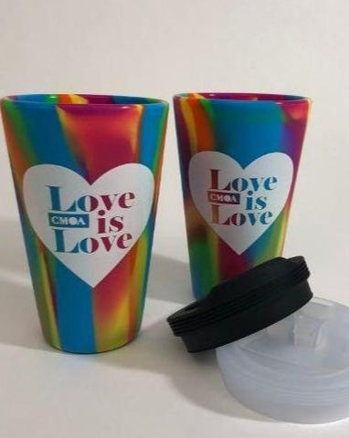 Love is Love Silicone Travel Mug
