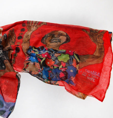 Aminah Lynn Robinson Scarf - Incantations (from Themba; A Life of Grace and Hope series)