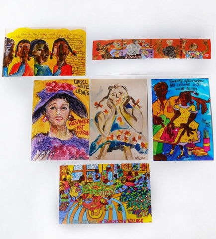 Aminah Lynn Robinson postcard assortment