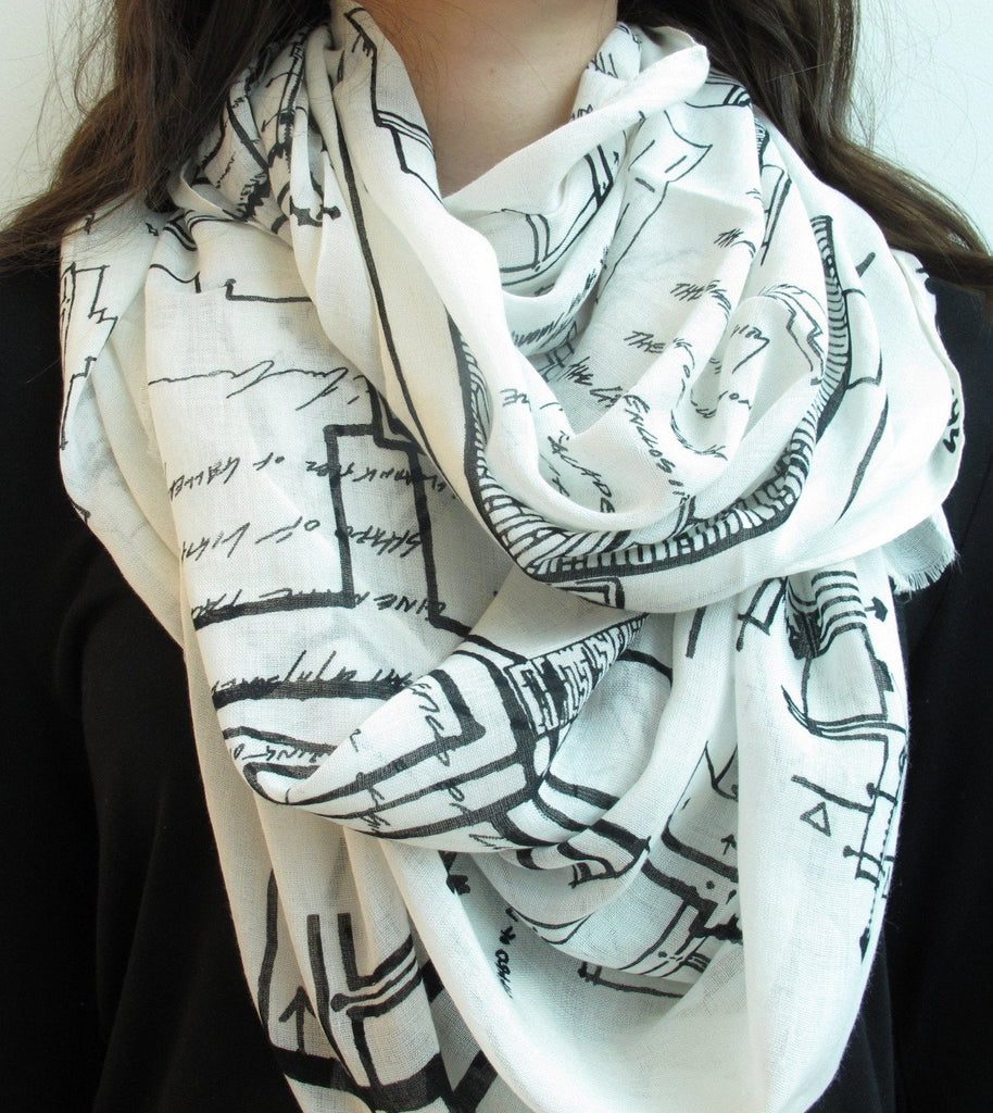 Sketches Scarf