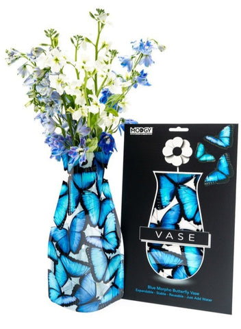 Modgy Expandable Flower Vase (Butterflies)