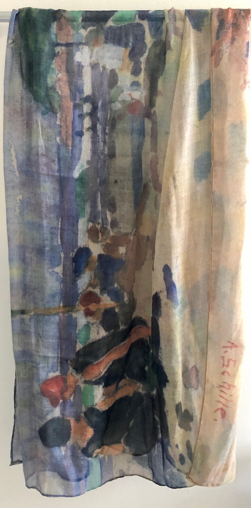 Alice Schille Watercolor Scarf