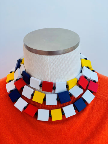 Mondrian Necklace, Jianhui