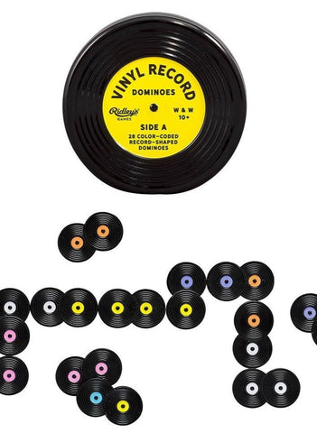 Vinyl Record Dominoes