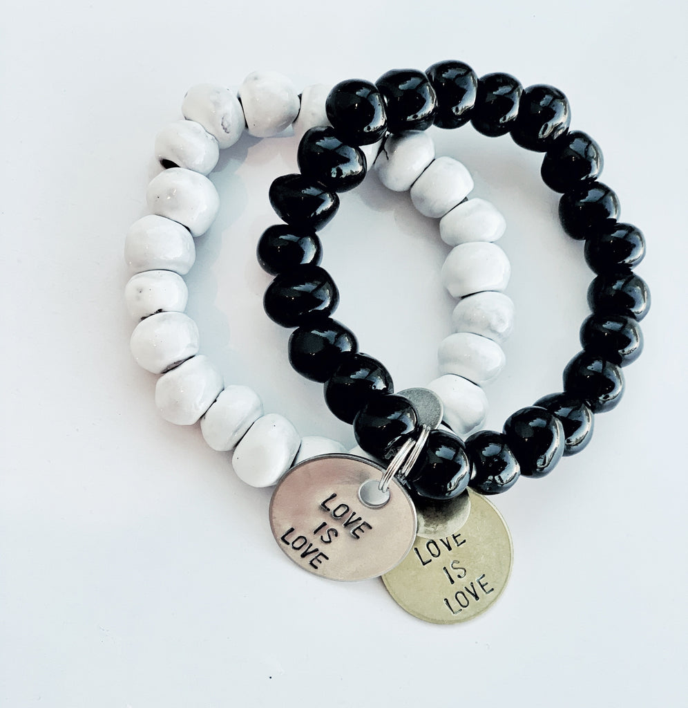 Love is Love, Clay Bracelet, Simbi