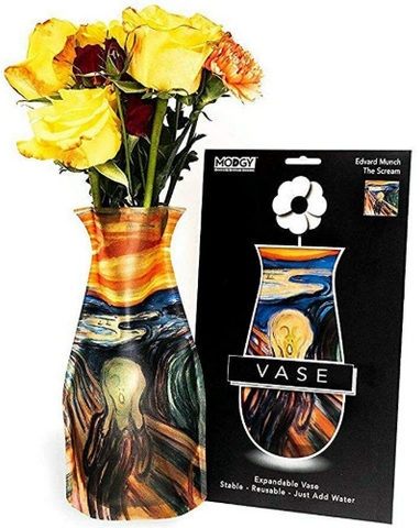 Modgy Expandable Flower Vase (The Scream)